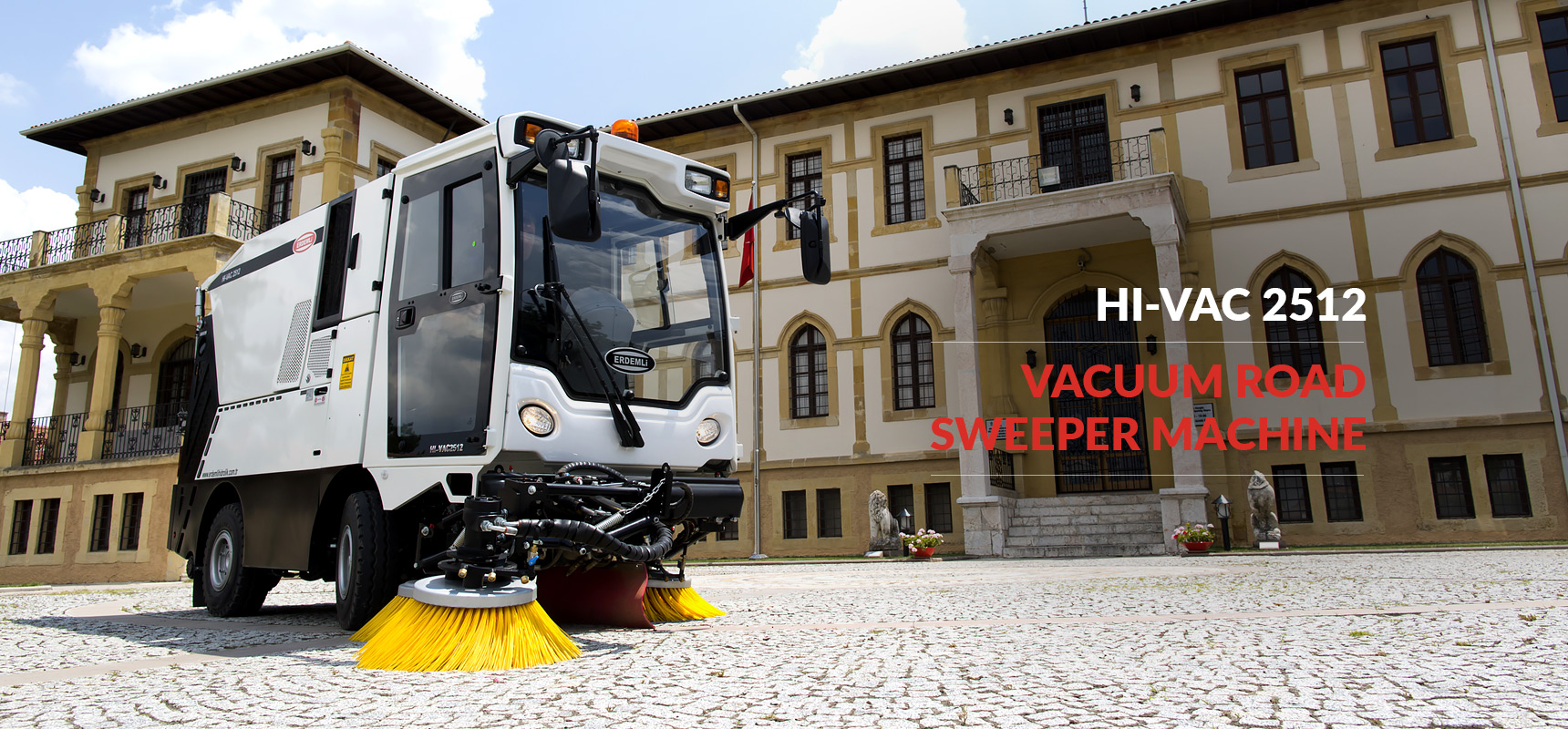 ERDEMLI HYDRAULIC: Vacuum Road Sweeper Machine